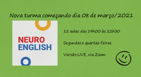 NeuroEnglish – Live – via Zoom