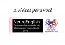 2 vídeos  – NeuroEnglish – Desbloqueando e aprendendo idiomas com Neurociência e PNL